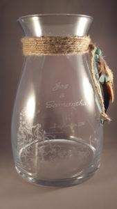 Herinnering in glas, uniek kado voor bruiloft